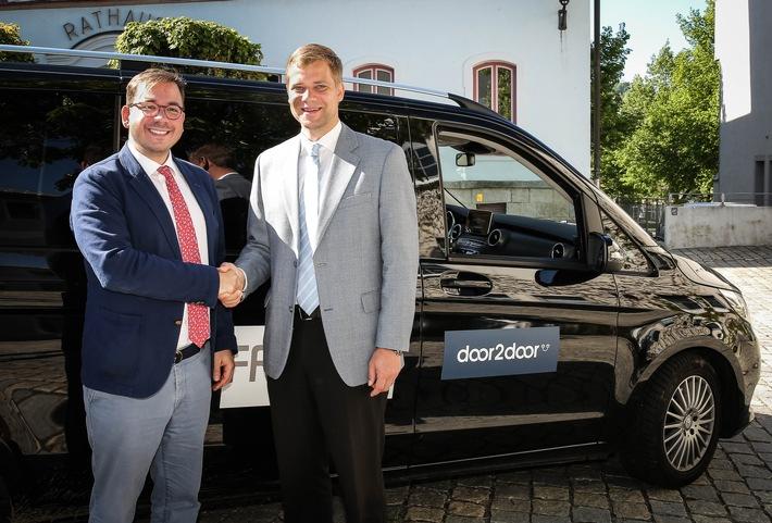 Weltpremiere im Bayerischen Wald: Stadt und Startup fahren gemeinsam in die Zukunft