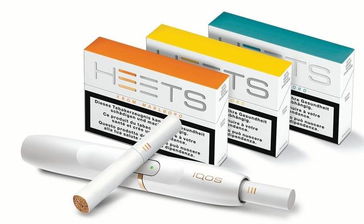 Philip Morris S.A. lance la marque HEETS et confirme le succès de son système de tabac chauffé IQOS