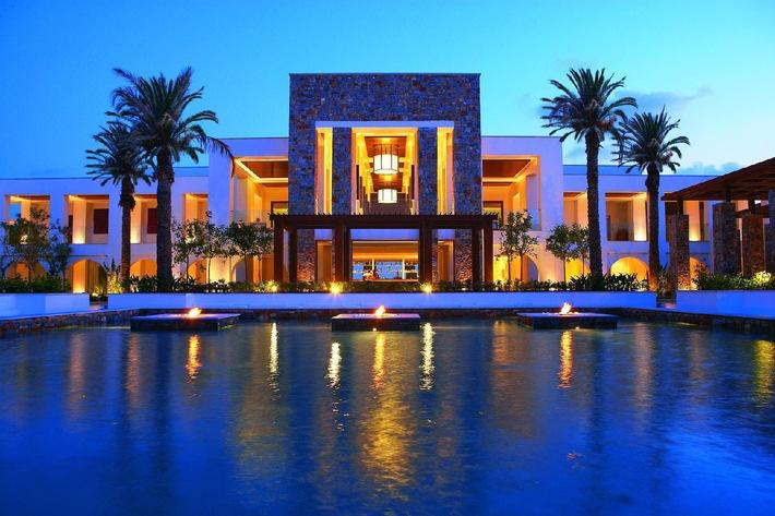 TUI Suisse - Erste Sommersaison für neues Hotel auf Kreta: Grecotel Amirandes ist ein Ferienparadies der Luxusklasse