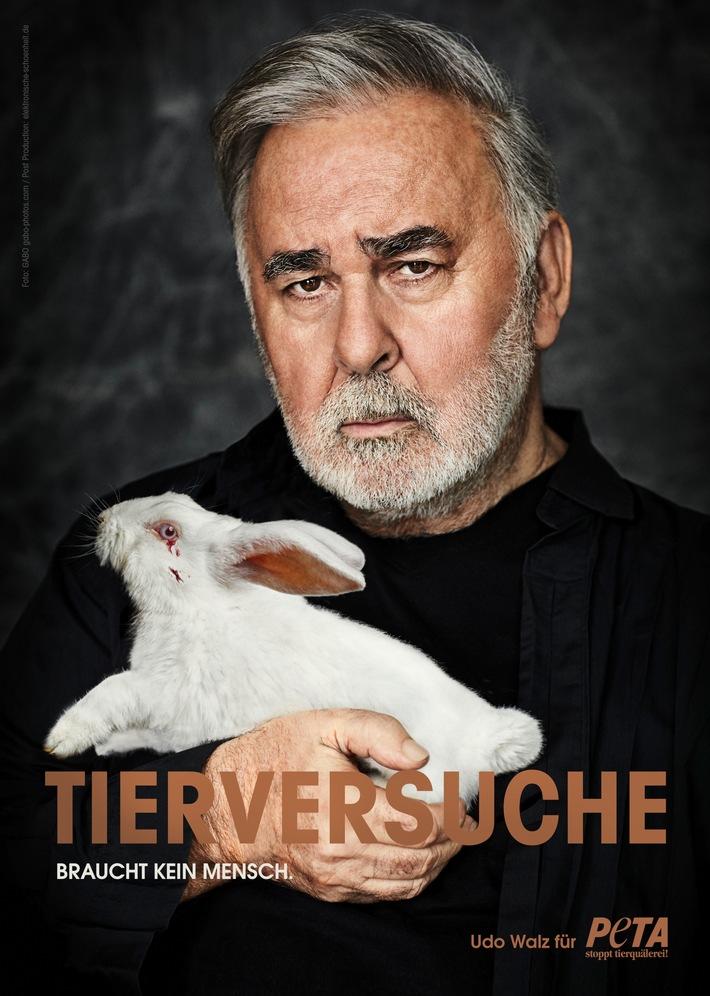 Udo Walz für PETA: