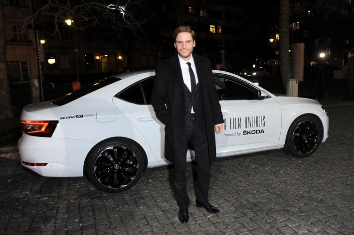 Chauffeur der Stars: SKODA als offizieller Partner beim Europäischen Filmpreis 2015