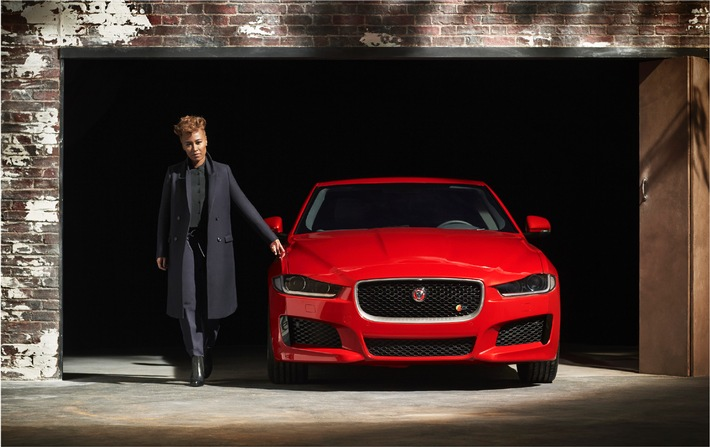 Emeli Sandé und Jaguar begeistern London bei der Weltpremiere des XE am 8. September