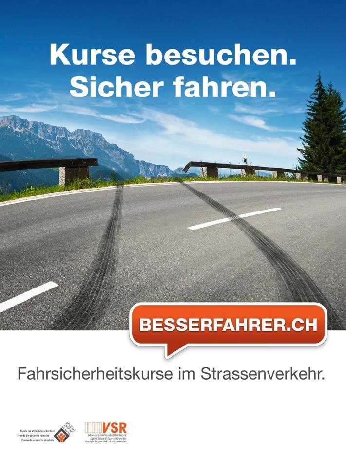 Besserfahrer.ch: Wer sich weiterbildet, fährt sicherer