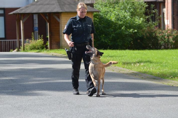 POL-FL: Polizeidirektion Flensburg - Polizeihunde bestehen jährliche Prüfungen