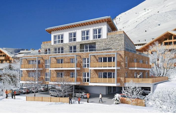 Kristall Spaces verkauft exklusive Appartements in Kühtai, dem höchsten Wintersportort Tirols