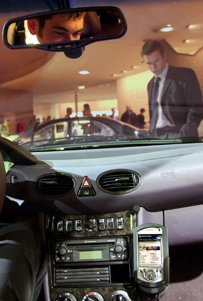 Neuer Online-Dienst von Mercedes-Benz setzt auf besten Autofahrerservice