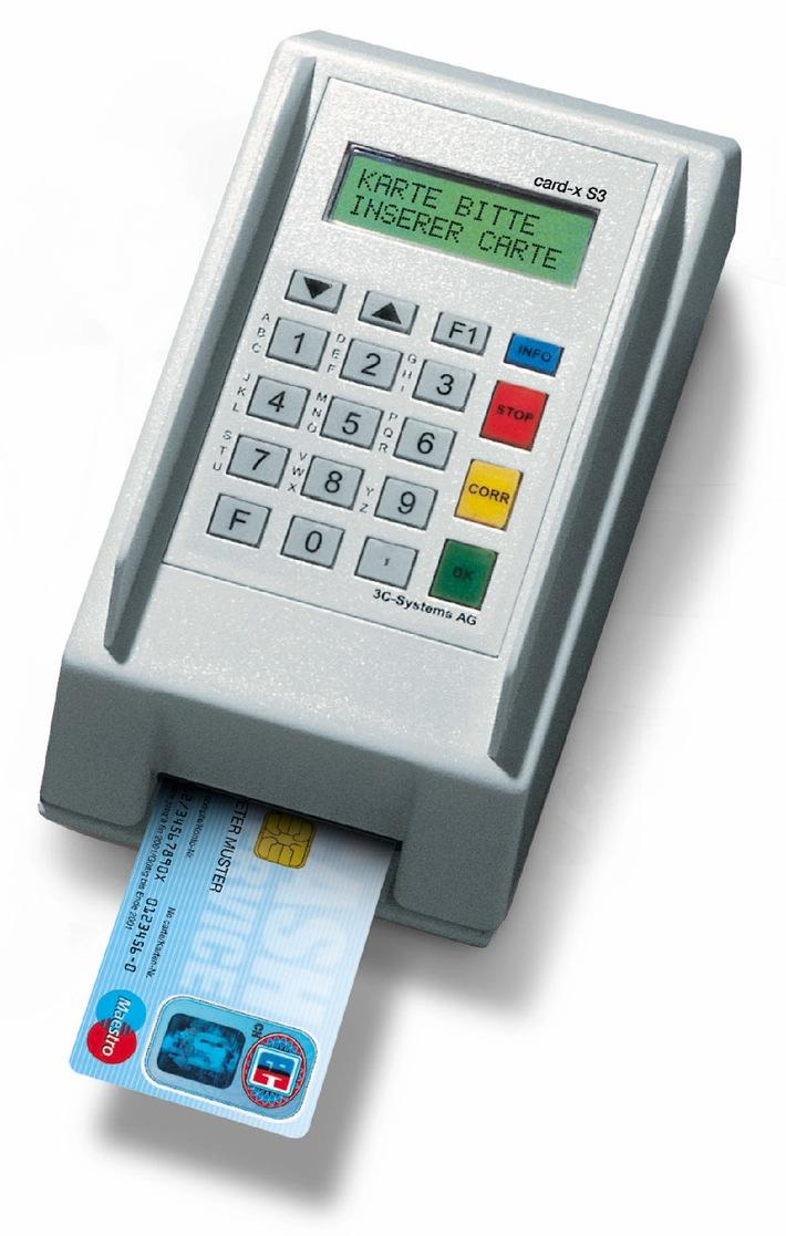 Cash-Kombiterminal von 3C-Systems AG - neu im Schweizer Markt