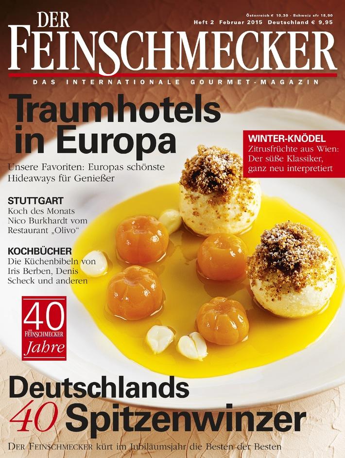 """""""Rezepte fürs Leben"""" / Im Gourmet-Magazin DER FEINSCHMECKER erzählen bekennende und prominente Genießer von ihren Lieblingskochbüchern"""