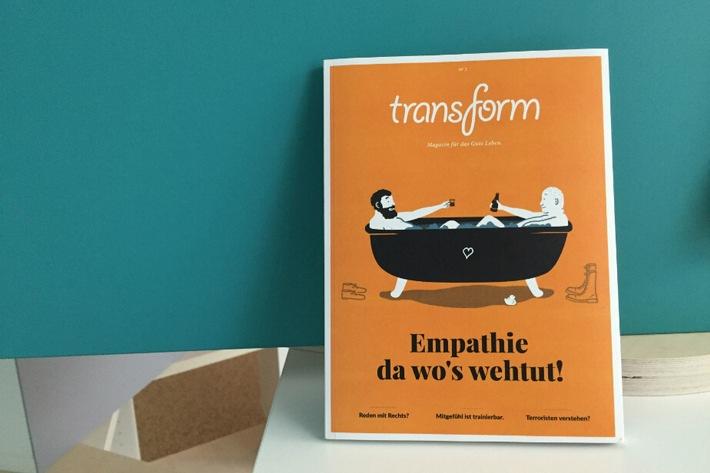 """BLOGPOST: Das neue Politikmagazin """"transform"""" - Unsere Blattkritik"""