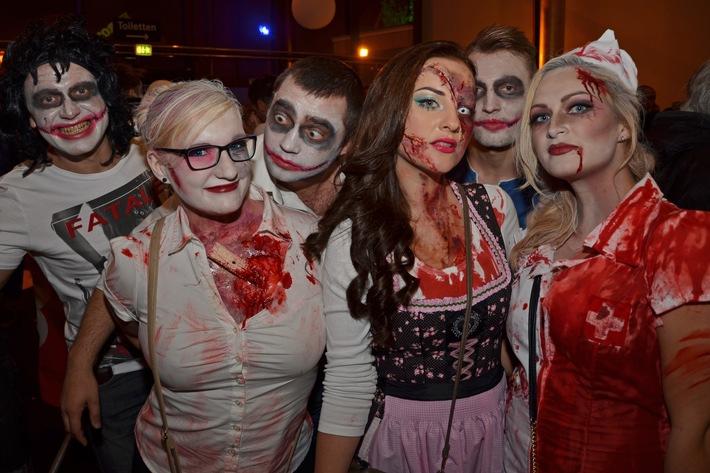 SWR3 Halloween-Party im Europa-Park Am 31. Oktober 2016 in Rust mit sechs DJs, SWR3 Band, u. v. m.