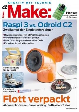 Make-Magazin präsentiert spannende Bastelprojekte / Upcycling: Musik aus dem Abflussrohr