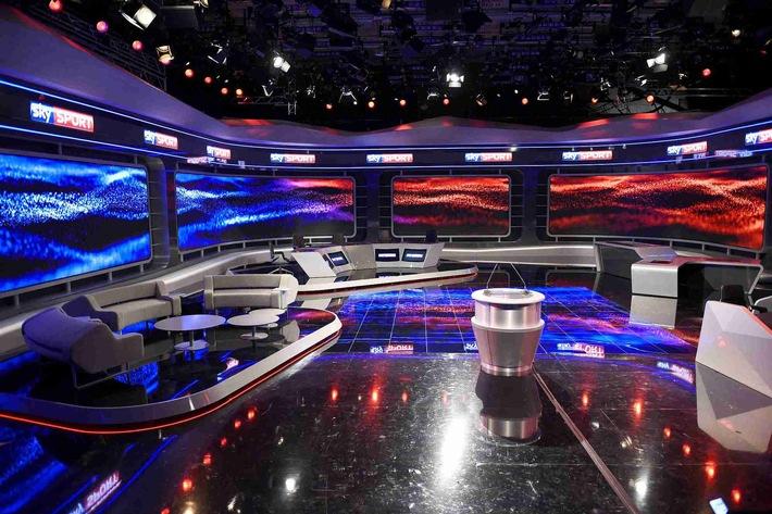 """Sky Deutschland feiert die offizielle Eröffnung des eigenen Sendezentrums """"Sky Sport HQ"""" in Unterföhring"""