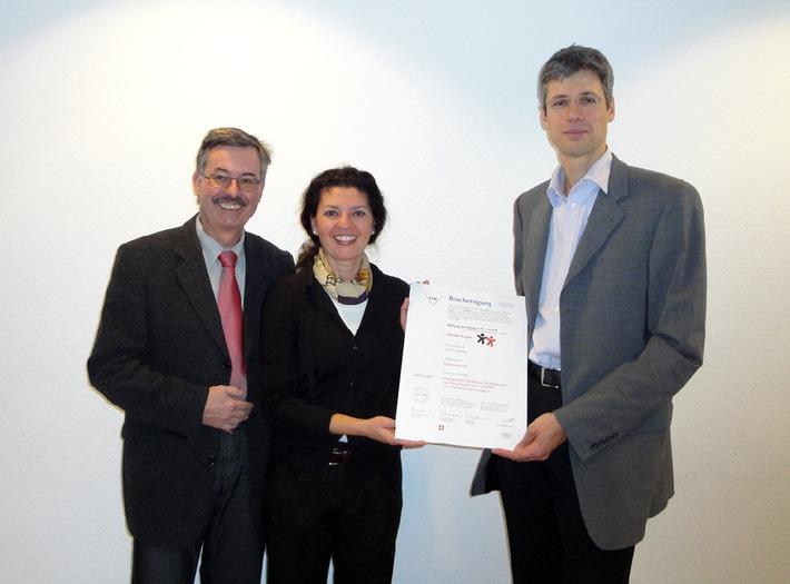 La Fondation Village d'enfants Pestalozzi dotée du label NPO de l'excellence dans le management et certifiée selon la norme ISO 9001