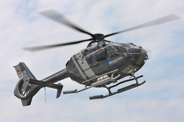 Vorstellung Schulungshubschrauber EC-135 beim Marinefliegergeschwader 5 in Nordholz