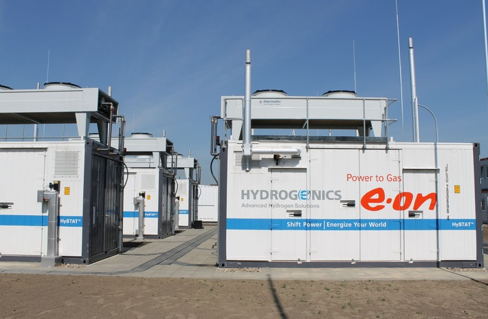 Innovative Power to Gas Technik: E.ON WindGas wird neu aufgelegt