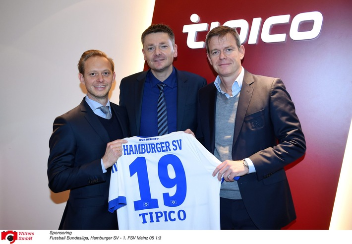 HSV-Presseservice: HSV und Tipico verlängern Partnerschaft