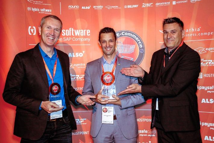ARP Online-Shop gewinnt Swiss E-Commerce Award (BILD)