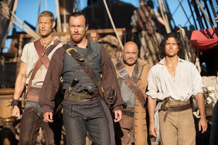"""Pirate's Bay: US-Serie """"Black Sails"""" von Action-Meister Michael Bay ab 25. Juli 2014 auf ProSieben"""