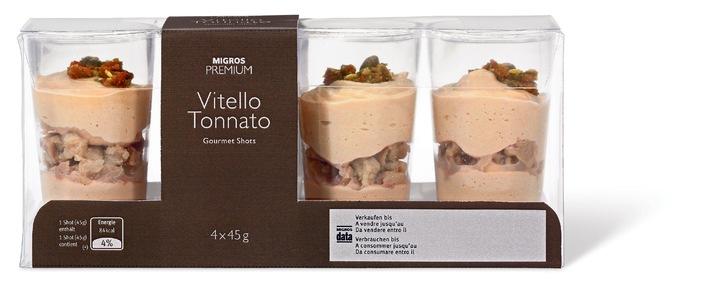 """Rückruf: """"M-Premium Gourmet Shot"""" mit falschem Datum"""