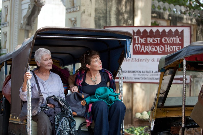 "Free-TV-Premiere ""The Best Exotic Marigold Hotel"" am 16. Juli 2014 in SAT.1"