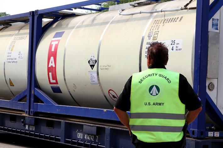 Reststoffe syrischer Chemiewaffen erfolgreich in Bremen verladen
