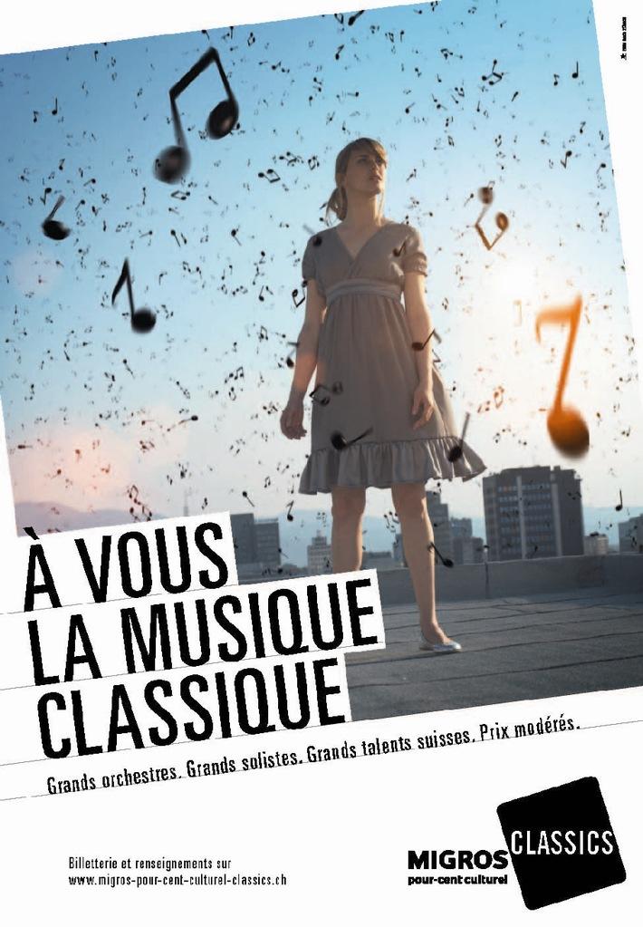 Grands Orchestres. Grands solistes. Grands talents suisses. Prix modérés.  Au revoir, les Concerts-Club. Bienvenue les Migros-Pour-cent-culturel-Classics