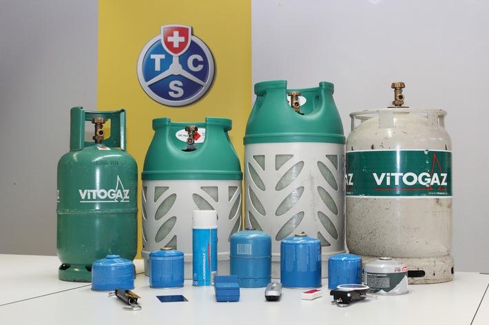 TCS Caravan Gas Control: Sicherer Umgang mit Flüssiggas