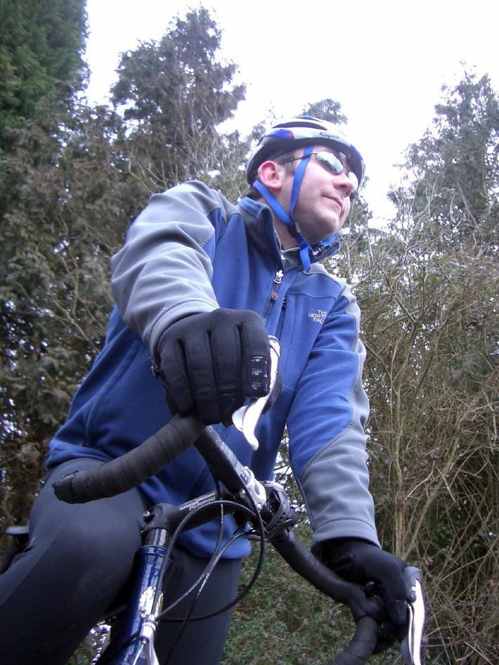 Die ungewöhnliche Radtour des Gavin Rees