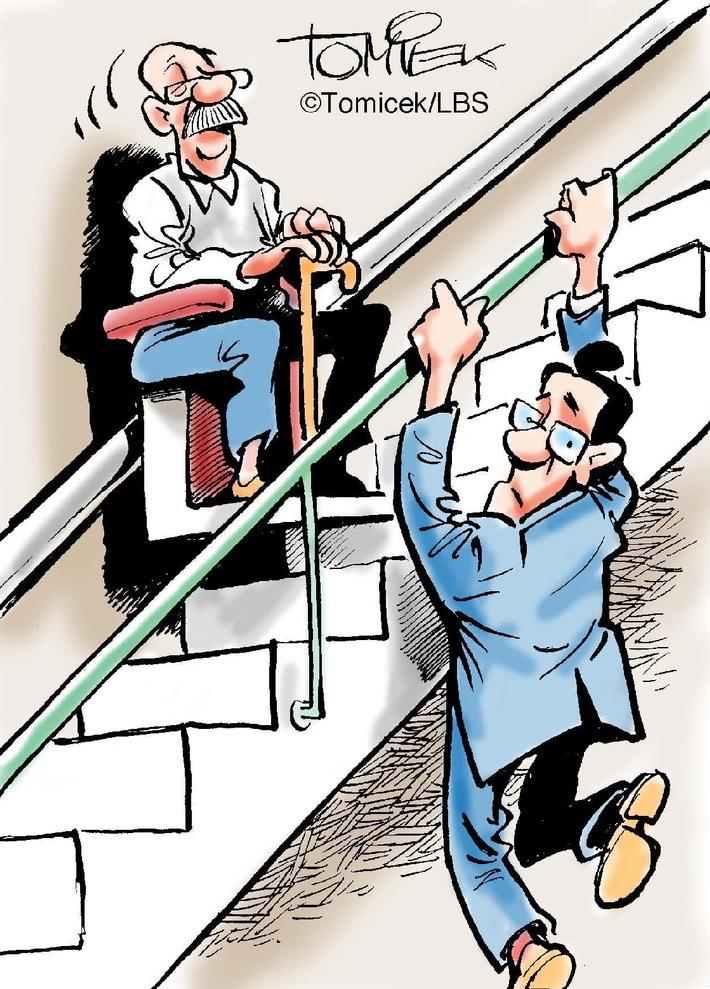 Ein Meter, nicht weniger! / Urteil zur Mindestbreite einer Treppe im Mehrfamilienhaus (BILD)