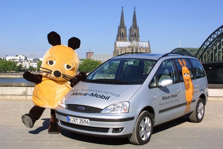 Ford macht die Maus mit Galaxy Mobil