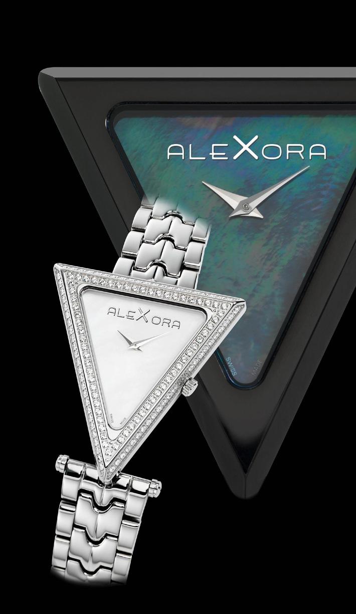 AleXora Uhren: Über drei Ecken zum Erfolg