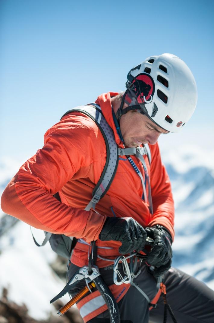 Neuer Rekord am Matterhorn: Mammut Pro Team Athlet Dani Arnold knackt Bestzeit in der Matterhorn Nordwand