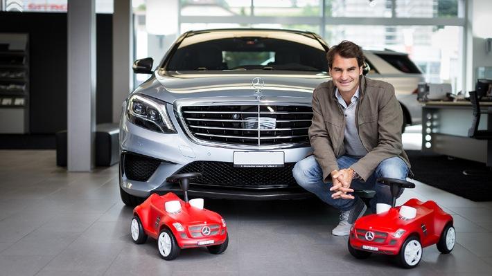 Un duo parfait / Roger Federer est ambassadeur de Mercedes-Benz Suisse