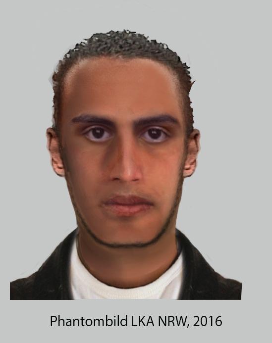 POL-D: Nach Körperverletzungsdelikt in Stadtmitte: Polizei veröffentlicht Phantombild - Wer kennt den Mann?