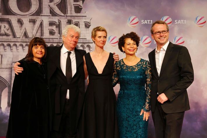 """SAT.1 TV-Event """"Die Tore der Welt"""" feiert Deutschland-Premiere in Berlin"""