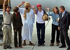 Media Service: Le mystère subsiste sur le rapt des Suisses au Sahara