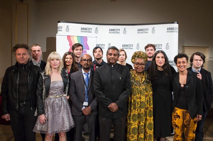 Amnesty Deutschland ehrt Alice Nkom aus Kamerum mit dem 7. Menschenrechtspreis