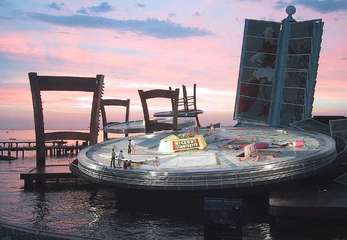 """""""La Bohème"""" auf der grössten Seebühne der Welt - Probenbeginn bei den Bregenzer Festspielen für die Premiere am 18. Juli."""