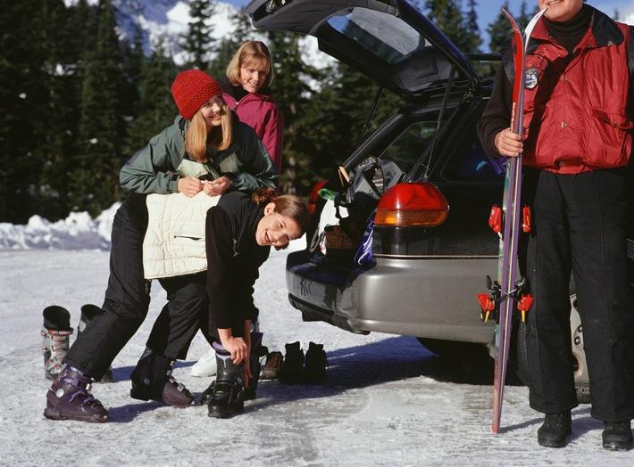Unterwegs in den Winterurlaub? Tipps für Autofahrer