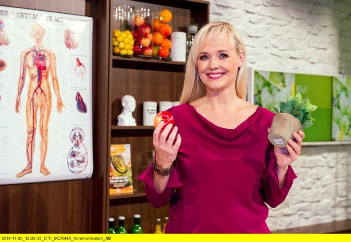 MDR-Fernsehärztin Franziska Rubin gibt Moderation im Sommer 2015 ab