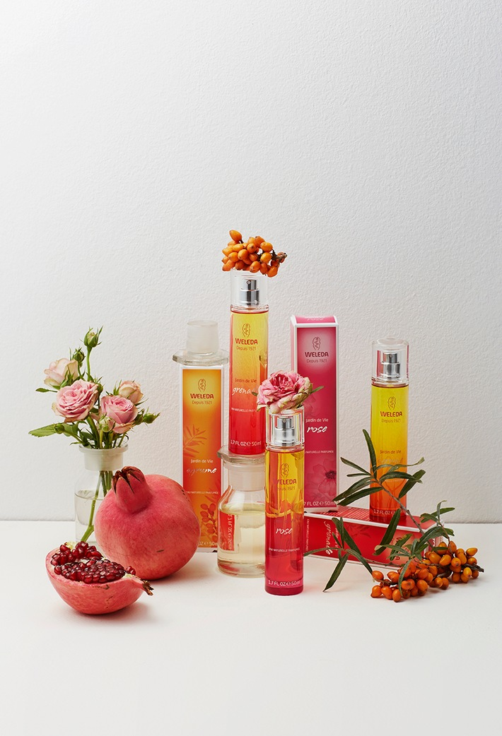 Die neuen Weleda Eaux Naturelles Parfumées: Natürliche Düfte aus dem Garten der Natur