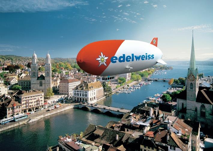 Der Edelweiss Zeppelin auf Schweizer Tour (BILD)