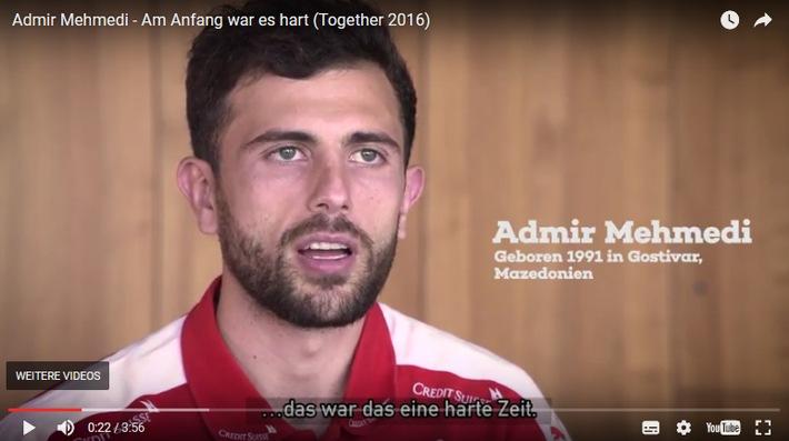 Le football, facteur d'intégration: un pari gagnant! / Les courts-métrages réalisés pour la campagne Together 2016 remportent le Prix européen des médias CIVIS «Football + Intégration»