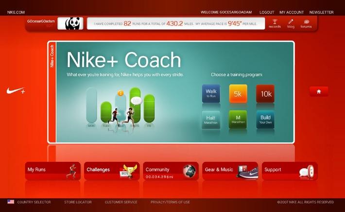 Nike präsentiert neuen Lauftrainer für das Handgelenk