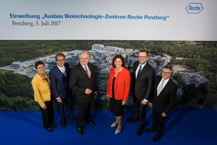 Roche weiht Neubauten des Biotechnologie-Zentrums in Penzberg ein