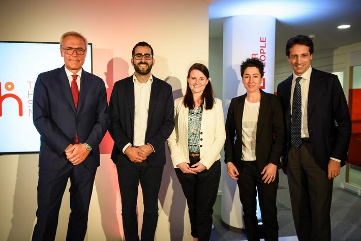 """Generali Group startet ihre neue weltweite Bewegung """"The Human Safety Net"""" in Berlin"""