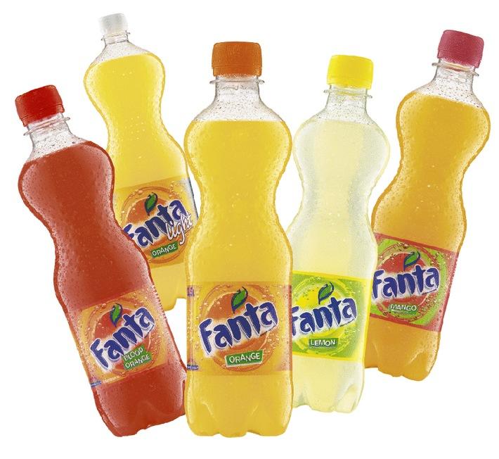 Die prickelnden Frühlings-Erfrischungen von Fanta: Neue eigenständige Fanta-Flasche und zwei neue Sorten
