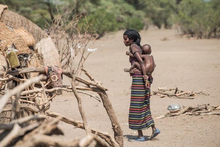 Dürrekatastrophe in Äthiopien: Menschen für Menschen Schweiz startet Nothilfe