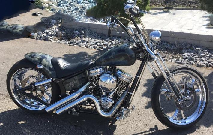gestohlenes Motorrad