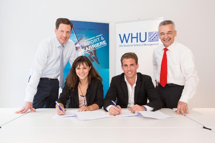 WHU und Deutsche Sporthilfe starten Ausbildungskooperation